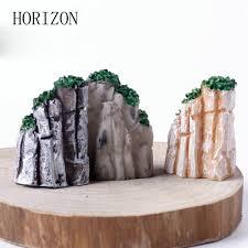Gardening Decorative Accessories Fashion 100 PCS Mini Mountain Bonsai Ornaments Plant Gardening 77