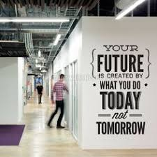 wall decorations for office. Wall Decal Quotes - Vinyl Quote Do . It Today Not Tomorrow Office Sticker Decor Decorations For L