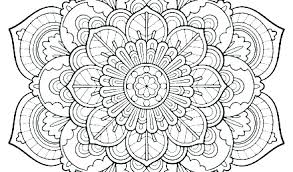Detailed Mandala Coloring Pages Intricate Mandala Coloring Pages