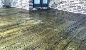 stamped concrete or pavers wood grain concrete stamped concrete patio cost designs concrete craft wood grain