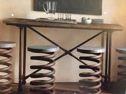 restoration hardware industrial coil stool restoration hardware stools39