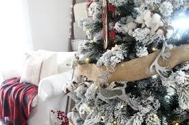 Plaid Christmas Tree Rustic Plaid Christmas Tree The Glam Farmhouse