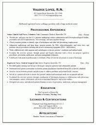 Resume For Nurses Fascinating Resume Examples For Nursing Inspiration Graduate Nurse R Good Resume
