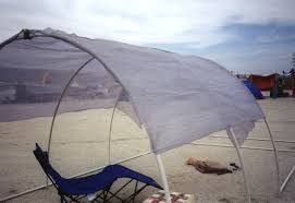 diy pvc shade structure burning man here s the sarlon shade cloth before the fabric covering