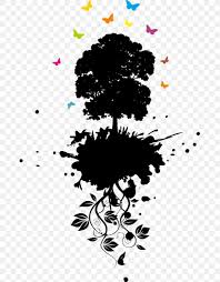 Tree Of Life Graphic Design Graphic Design Tree Png 673x1050px Drawing Art Black