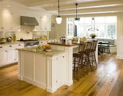custom white kitchen cabinets. Kitchen:Welcoming Kitchen Design With White Custom Cabinets And Sturdy Island Welcoming