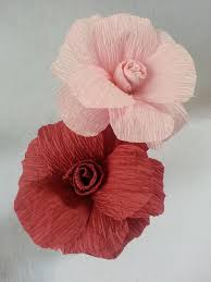 Making Flower Using Crepe Paper How To Make Crepe Paper Flowers Dyi Paper Flowers Crepe Paper