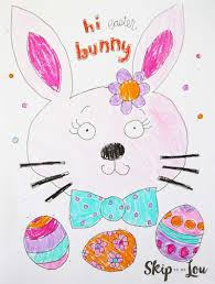 The Cutest Free Easter Coloring Pages Skip To My Lou