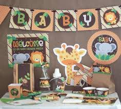 Awesome Baby Shower Jungle Theme Centerpieces 53 With Additional Baby Shower Jungle