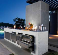 Cool Outdoor Kitchen Designs 18 800 Source Www.digsdigs.com Min   Ideas For