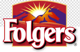 Folgers Coffee Chart Logo Folgers Coffee Brand Coffee Transparent Background