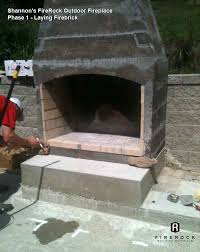 admirable outdoor fireplace diy copy
