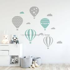 air balloons wall decal