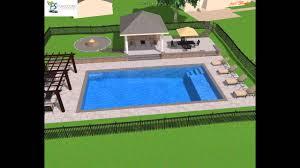 small rectangular pool designs. Plain Rectangular Rectangle Pool Design Youtube In Small Rectangular Designs T