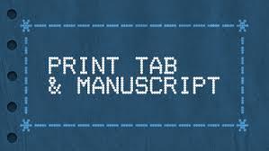 Print Blank Tab Manuscript Justinguitar Com