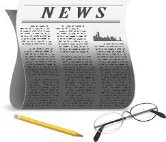 Image result for newspaper free clipart