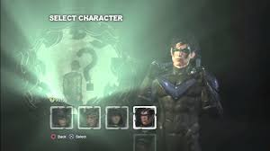 how to play as nightwing in story mode on batman arkham city for ps3 batman arkham city