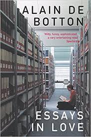fr essays in love alain de botton livres