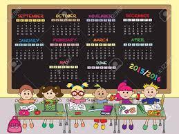 School Calendar Template 2015 2020 2015 2016 A School Calendar Template