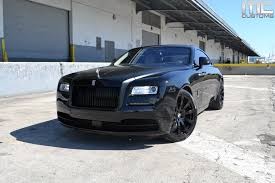 rolls royce wraith blacked out. rolls royce wraith blacked out