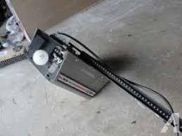 garage door opener searsSears Craftsman 12 half horsepower garage door opener use