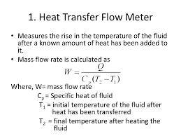 heat transfer flow meter