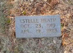 Estelle Heath (1919-1923) - Find A Grave Memorial