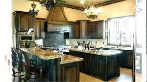 gray stained kitchen cabinets rustic shaker