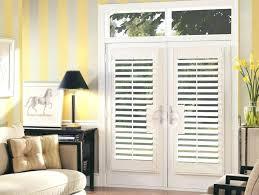 french doors with half glass window coverings for patio front door blinds door window coverings h72