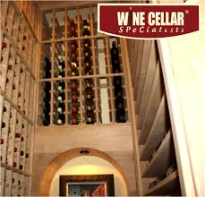 wine cellar specialists has converted a small closet into a beautiful texas wine cellar equipped with an efficient cooling unit