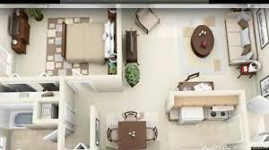 Plan Of 1 Bedroom Flat