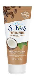 The scent doesn't linger throughout the day, i stop noticing it after about an hour, but could also just be used to it at that point. Energizing Coconut Coffee Face Scrub St Ives
