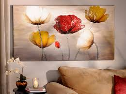 Modern Paintings For Living Room 358 Best Images About Flores Pintadas On Pinterest Red Black