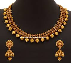 Engagement Gold Necklace Designs 70gms Pure Gold Necklace Gold Jewellery Design Bridal