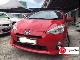 2012 Toyota Prius c for sale in Malaysia for RM43,800 | MyMotor