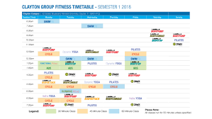 group fitness timetable clayton cus timetable screens2