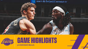 HIGHLIGHTS | Los Angeles Lakers vs Chicago Bulls - YouTube
