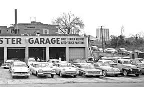 was located in atlanta georgia at 140 butler street nw it looks just like many of the older gritty automotive repair and and paint