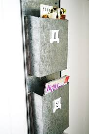 Galvanized Magazine Holder Interesting Magazine Rack Thoughts Galvanized Steel Organizations And Pillows