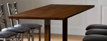 types of table tops materials shapes