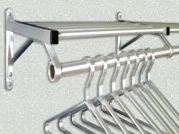 top shelf clothes wardrobe racks clothes rack shelf garment rack with cover wall mounted