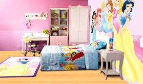 Disney Princess Wall Decor Teen Bedroom Lovely Princess Girl Bedroom Rug  With Laminate Wood Floor Princess