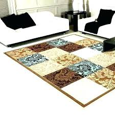 brown and cream rug blue teal area rugs chocolate red cre