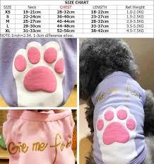 New Cheap Summer Give Me Four Paws Dog Vest Soft Pet Cat Vest Clothes 2 Color Xs S M L Xl