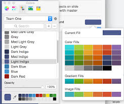 Changing Preset Colors In Keynote Ask Different