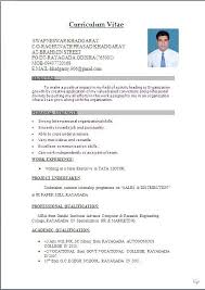 fresher resume format Resume Sample in Word Document: MBA(Marketing &  Sales) Fresher .