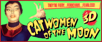 Image result for 3-d images of 1953 catwomen of the moon