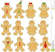 gingerbread man and woman. Simple And Gingerbread Men And Women On Man And Woman P