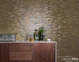 make your contemporary statement with a glass mosaic feature wall
