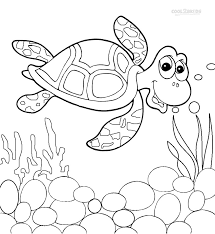 Small Picture Printable Sea Turtle Coloring Pages For Kids Cool2bKids